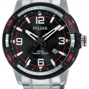 Pulsar Pulsar X Ps9475x1 Kello Musta / Teräs