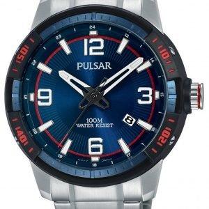 Pulsar Pulsar X Ps9477x1 Kello Sininen / Teräs