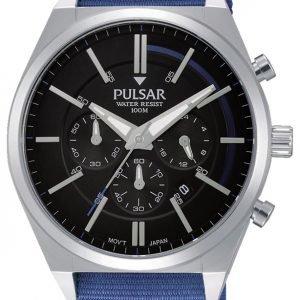 Pulsar Pulsar X Pt3703x1 Kello Musta / Teräs