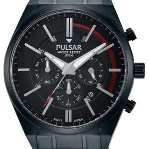Pulsar Pulsar X Pt3705x1 Kello Musta / Teräs