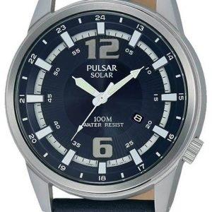 Pulsar Pulsar X Px3083x1 Kello Sininen / Nahka