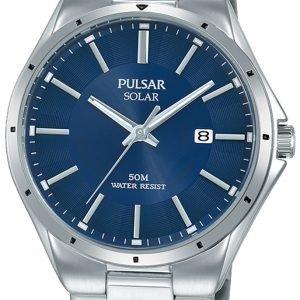 Pulsar Solar Px3139x1 Kello Sininen / Teräs