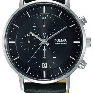Pulsar Sport Pm3081x1 Kello Musta / Nahka