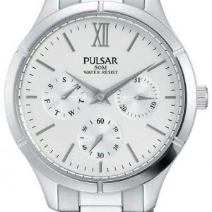 Pulsar Sport Pp6225x1 Kello Hopea / Teräs