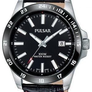 Pulsar Sport Ps9463x1 Kello Musta / Nahka