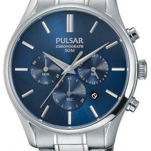 Pulsar Sport Pt3777x1 Kello Sininen / Teräs