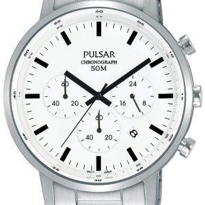 Pulsar Sport Pt3883x1 Kello Valkoinen / Teräs