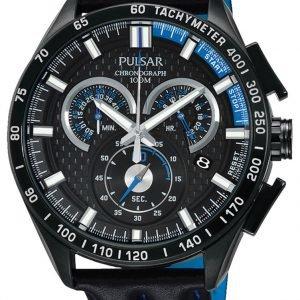 Pulsar Sport Px7009x1 Kello Musta / Nahka