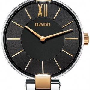 Rado Coupole R22850163 Kello Musta / Punakultasävyinen