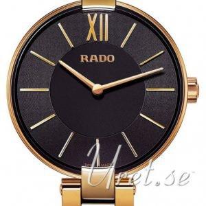Rado Coupole R22851163 Kello Musta / Kullansävytetty Teräs