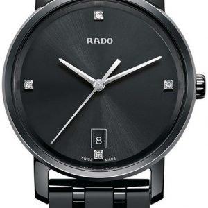 Rado Diamaster R14063717 Kello Musta / Keraaminen