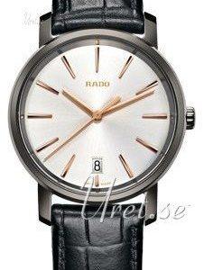 Rado Diamaster R14064105 Kello Valkoinen / Nahka