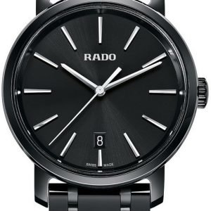 Rado Diamaster R14066182 Kello Musta / Keraaminen