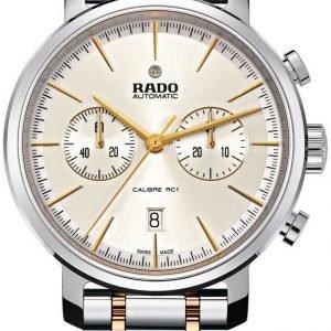 Rado Diamaster R14070103 Kello Hopea / Kullansävytetty Teräs