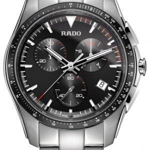Rado Hyperchrome R32259153 Kello Musta / Teräs