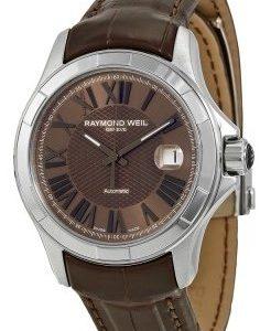 Raymond Weil Parsifal 2970-Stc-00718 Kello Ruskea / Nahka