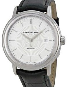Raymond Weil Raymond Maestro 2847-Stc-30001 Kello Hopea / Nahka