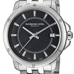 Raymond Weil Raymond Tango 5591-St-20001 Kello Musta / Teräs