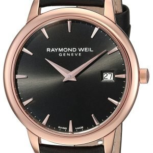Raymond Weil Toccata 5388-Pc5-20001 Kello Musta / Satiini