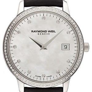 Raymond Weil Toccata 5388-Sls-97081 Kello Valkoinen / Satiini
