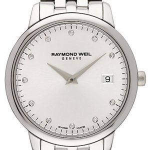 Raymond Weil Toccata 5388-St-65081 Kello Valkoinen / Teräs