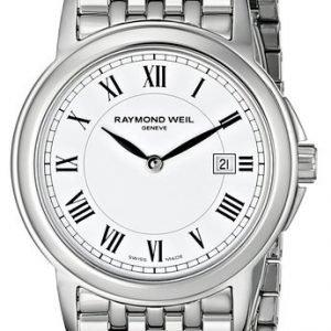 Raymond Weil Tradition 5966-St-00300 Kello Valkoinen / Teräs