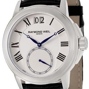 Raymond Weil Tradition 9578-Stc-00300 Kello Valkoinen / Nahka
