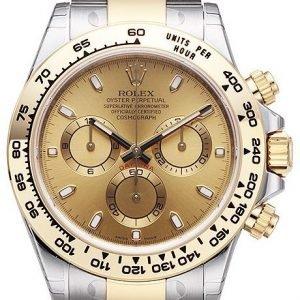 Rolex Cosmograph Daytona 116503-0003 Kello Kullattu / 18k