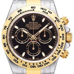 Rolex Cosmograph Daytona 116503-0004 Kello Musta / 18k