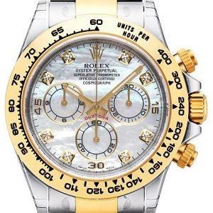 Rolex Cosmograph Daytona 116503-0007 Kello Valkoinen / 18k