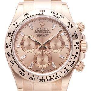 Rolex Cosmograph Daytona 116505-0006 Kello Samppanja / 18k