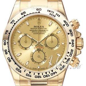 Rolex Cosmograph Daytona 116508-0003 Kello Kullattu / 18k
