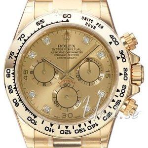 Rolex Cosmograph Daytona 116508-0006 Kello Kullattu / 18k
