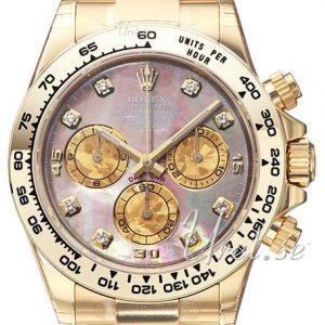 Rolex Cosmograph Daytona 116508-0011 Kello Pinkki / 18k