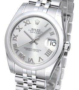 Rolex Datejust 31 178240-0001 Kello Harmaa / Teräs