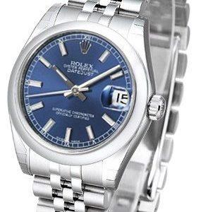 Rolex Datejust 31 178240-0026 Kello Sininen / Teräs