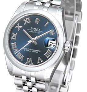 Rolex Datejust 31 178240-0037 Kello Sininen / Teräs