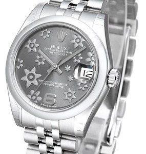 Rolex Datejust 31 178240-0039 Kello Harmaa / Teräs
