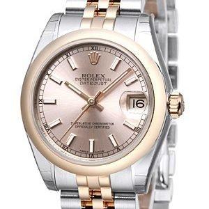 Rolex Datejust 31 178241-0005 Kello Pinkki / Teräs