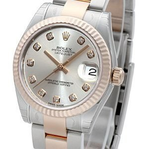 Rolex Datejust 31 178241-0029 Kello Hopea / Teräs