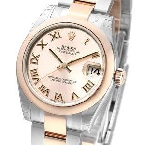 Rolex Datejust 31 178241-0063 Kello Pinkki / Teräs