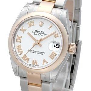Rolex Datejust 31 178241-0068 Kello Valkoinen / Teräs