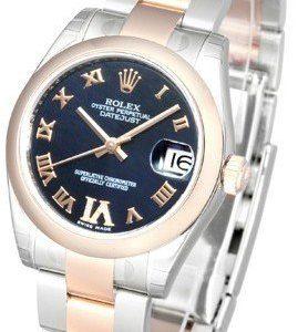 Rolex Datejust 31 178241-0073 Kello Sininen / Teräs