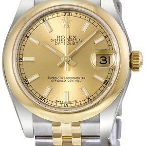 Rolex Datejust 31 178243-0003 Kello Samppanja / Teräs