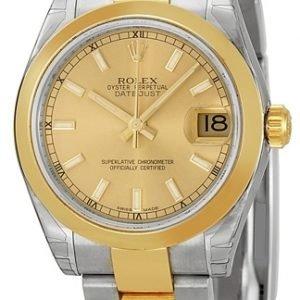 Rolex Datejust 31 178243-0008 Kello Samppanja / Teräs