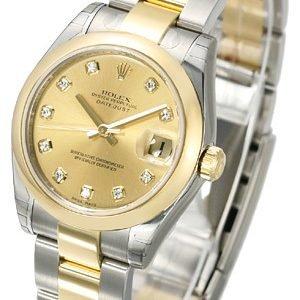 Rolex Datejust 31 178243-0024 Kello Samppanja / Teräs