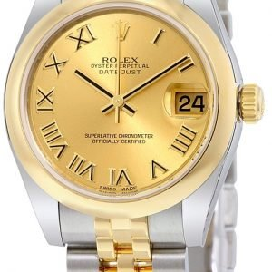 Rolex Datejust 31 178243-0073 Kello Samppanja / Teräs