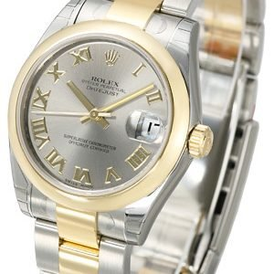 Rolex Datejust 31 178243-0074 Kello Hopea / Teräs