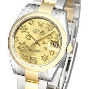 Rolex Datejust 31 178243-0078 Kello Samppanja / Teräs