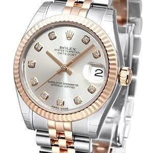 Rolex Datejust 31 178271-0030 Kello Hopea / Teräs